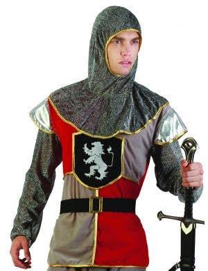 Medieval Knight Men's Crusader Dress Up Costume