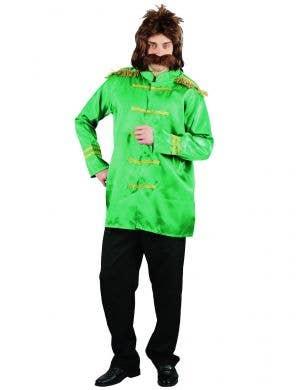 Men's Green Sgt Peppers Beatles Dress Up Costume