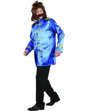 Men's Blue Sgt Peppers Beatles Dress Up Costume