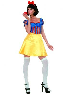 Short and Sexy Snow White Costume for Women