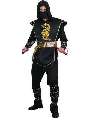 Fearless Ninja Stealth Japanese Warrior White Assassin Book Week Girls Costume