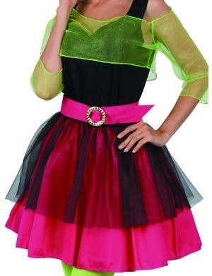 Neon 80's Party Girl Women's Costume