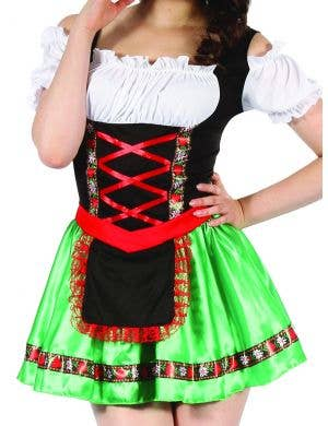 Green Beer Girl Women's Oktoberfest Costume