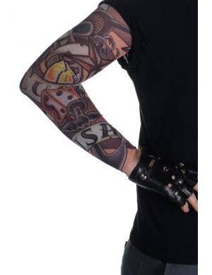 Luck and Freedom Novelty Full Length Tattoo Sleeve