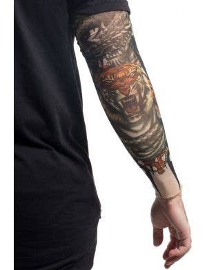 Tiger Tribal Tattoo Sleeve Costume Accessory