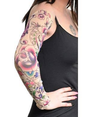 Tattoo Costume Accessory Sleeves - Love and Glory