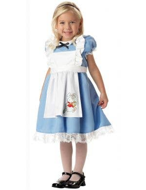 Fairytale Alice in Wonderland Costumes for Girls - Main Image