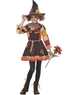 Patchwork Scarecrow Girls Wizard of Oz Costume