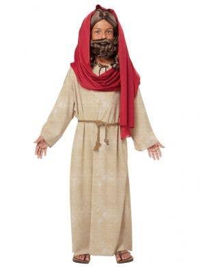 Boy's Jesus Christmas Bible Nativity Fancy Dress Costume Front