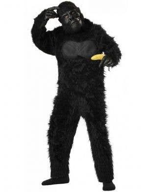 Kids Hairy Ape Fancy Dress Costume Front View