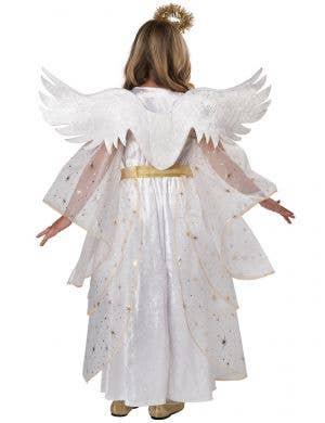Deluxe Starburst Angel Girl's Dress Up Costume