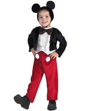 Kids Toddler Mickey Mouse Disney Costume Main Image