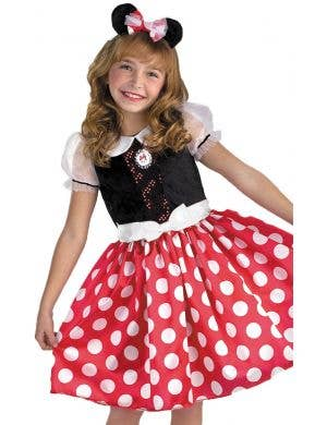 Classic Minnie Mouse Disney Polka Dot Girl's Costume