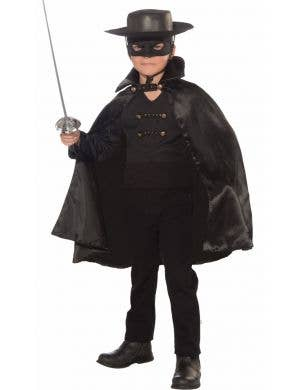 Bandito Boys Mexican Zorro Book Week Costume Front View