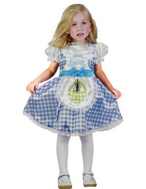 Country Girl Wizard Of Oz Dorothy Girls Dress Up Costume