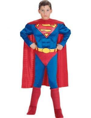 Muscle Chest Superman Boys Dress Up Costume