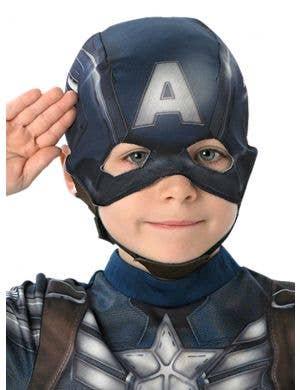 Captain America Boys Marvel Superhero Costume