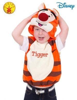 Winne The Pooh Kids Tigger Disney Dress Up Costume Main Image