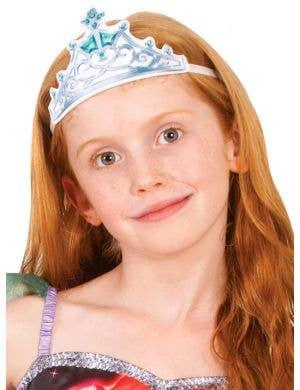 Disney Princess Ariel Fabric Tiara Costume Accessory