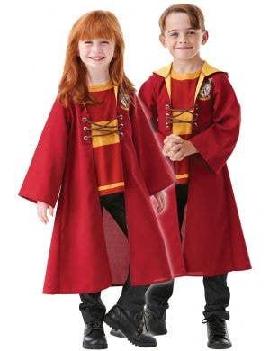 Kids Maroon Gryffindor Quidditch Robe - Main Image