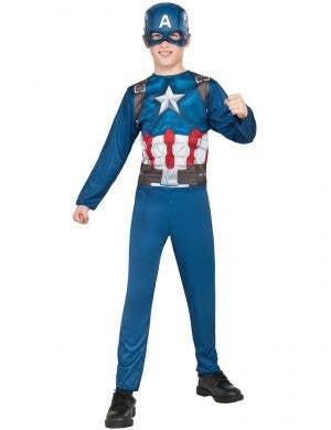 Boys Captain America Civil War Fancy Dress Costume