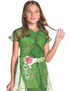 DC Super Hero Poison Ivy Girls Fancy Dress Costume