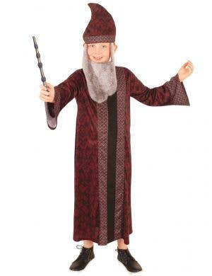 Boys Professor Dumbledore Costume - Front Image