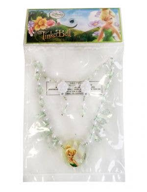 Tinker Bell Girls Necklace and Earrings Jewellery Set