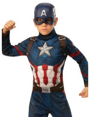 Captain America Boys Avengers Endgame Costume