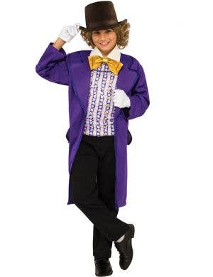 Classic Willy Wonka Boys Roald Dahl Costume