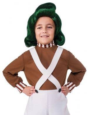 Oompa Loompa Boys Willy Wonka Book Week Costume