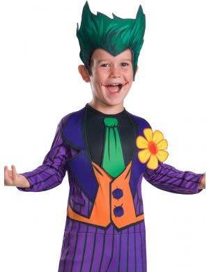 The Joker Classic Boys Fancy Dress Costume