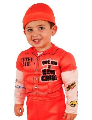 Cutie Convict Boys Orange Prisoner Costume