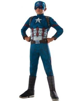 Infinity War Captain America Boys Avengers Fancy Dress Costume