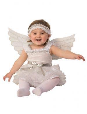 White Angel Toddler Christmas Costume Costume