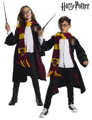 Kids Deluxe Harry Potter Gryffindor Costume - Main Image