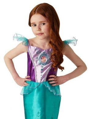 The Little Mermaid Ariel Girls Disney Princess Gem Costume