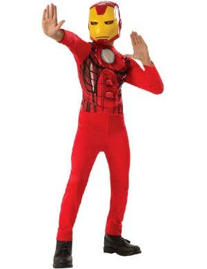 Classic Iron Man Boys Avengers Dress Up Costume
