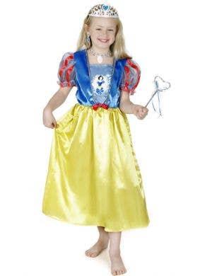 Girl's Disney Princess Snow White Costume Front View