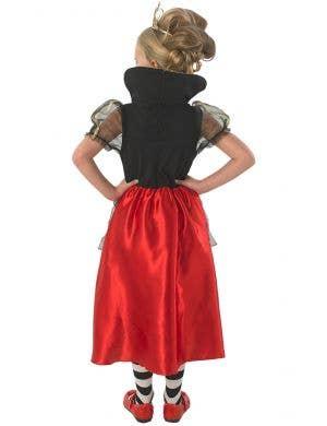 Red Queen of Hearts Girls Costume