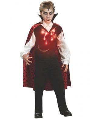 Light Up Boys Vampire Halloween Costume