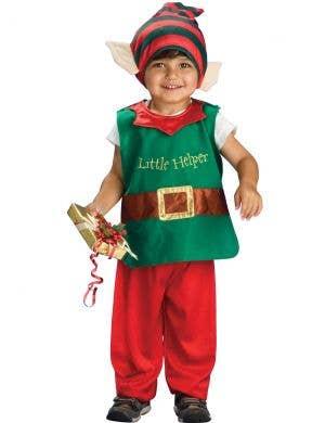 Santa's Lil' Elf Kids Christmas Costume