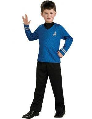 Kids Star Trek Spock Fancy Dress Costume