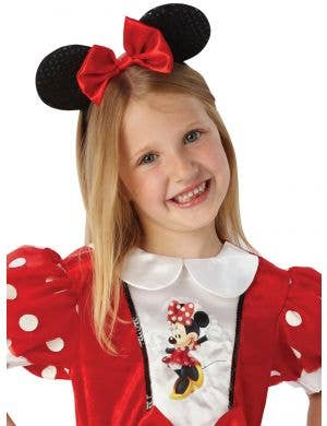 Glitzy Red Girls Minnie Mouse Disney Costume