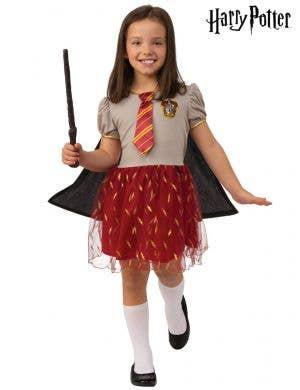 Gryffindor Girls Harry Potter Costume - Front Image