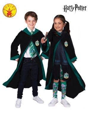 Kids Slytherin Costume Robe - Main Image