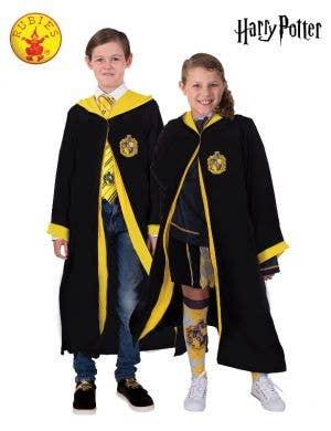 Kids Hufflepuff Costume Robe - Main Image