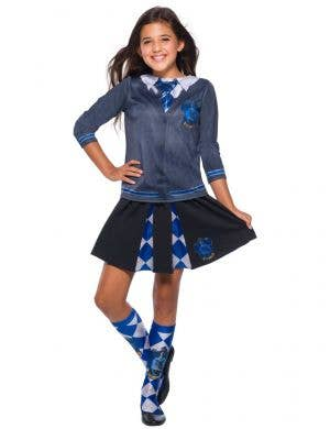 Girls Ravenclaw Costume Shirt