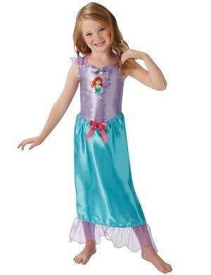 Girl's Ariel Fancy Dress Costume Front Image