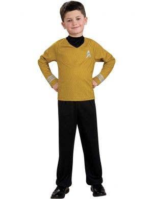 Boys Captain Kirk Operations Fancy Dress Costume